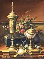 A Still Life With a German Cup
