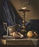 Still Life with Candelstick
